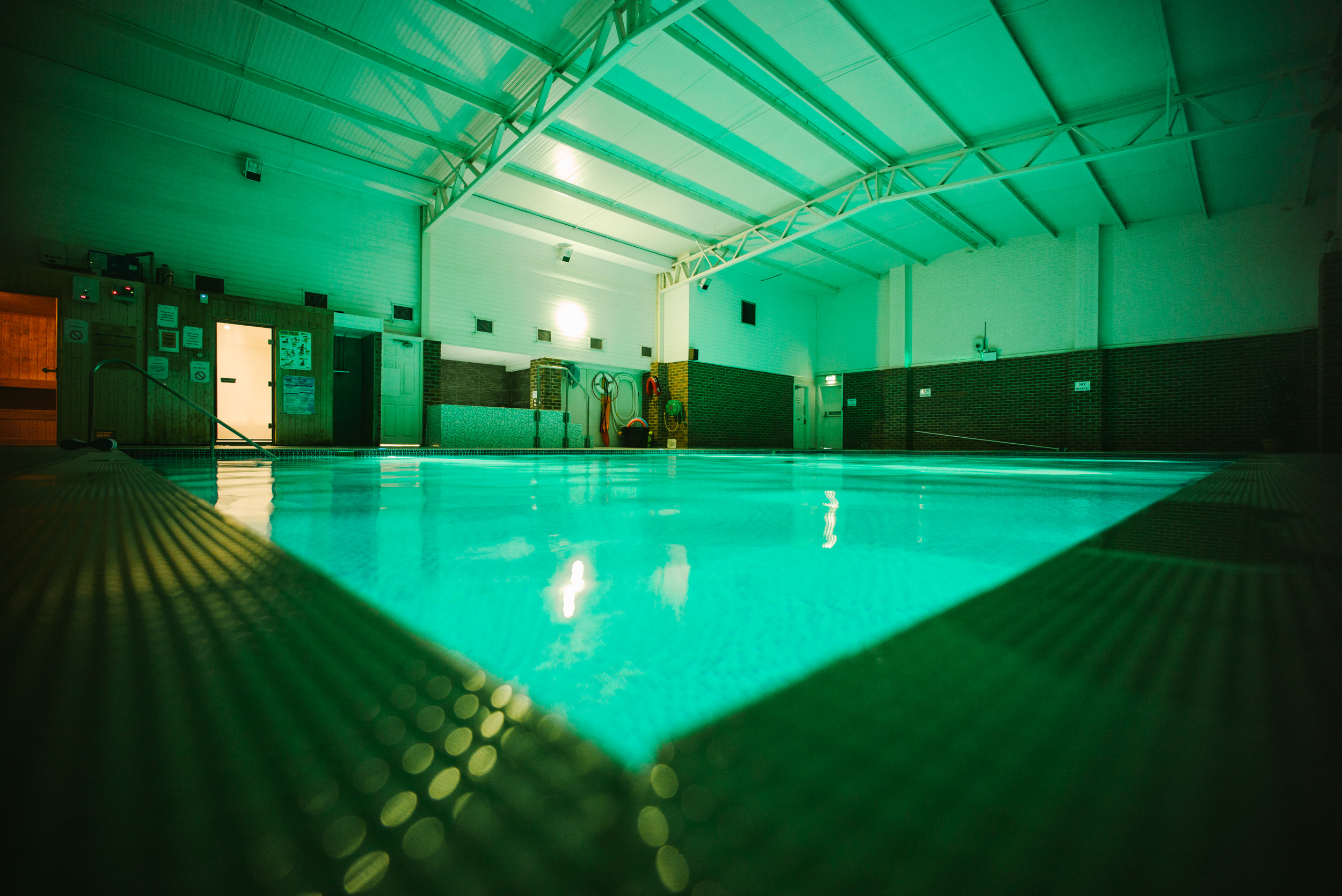 Swimming pool at Isenhurst Health Clun Uckfield