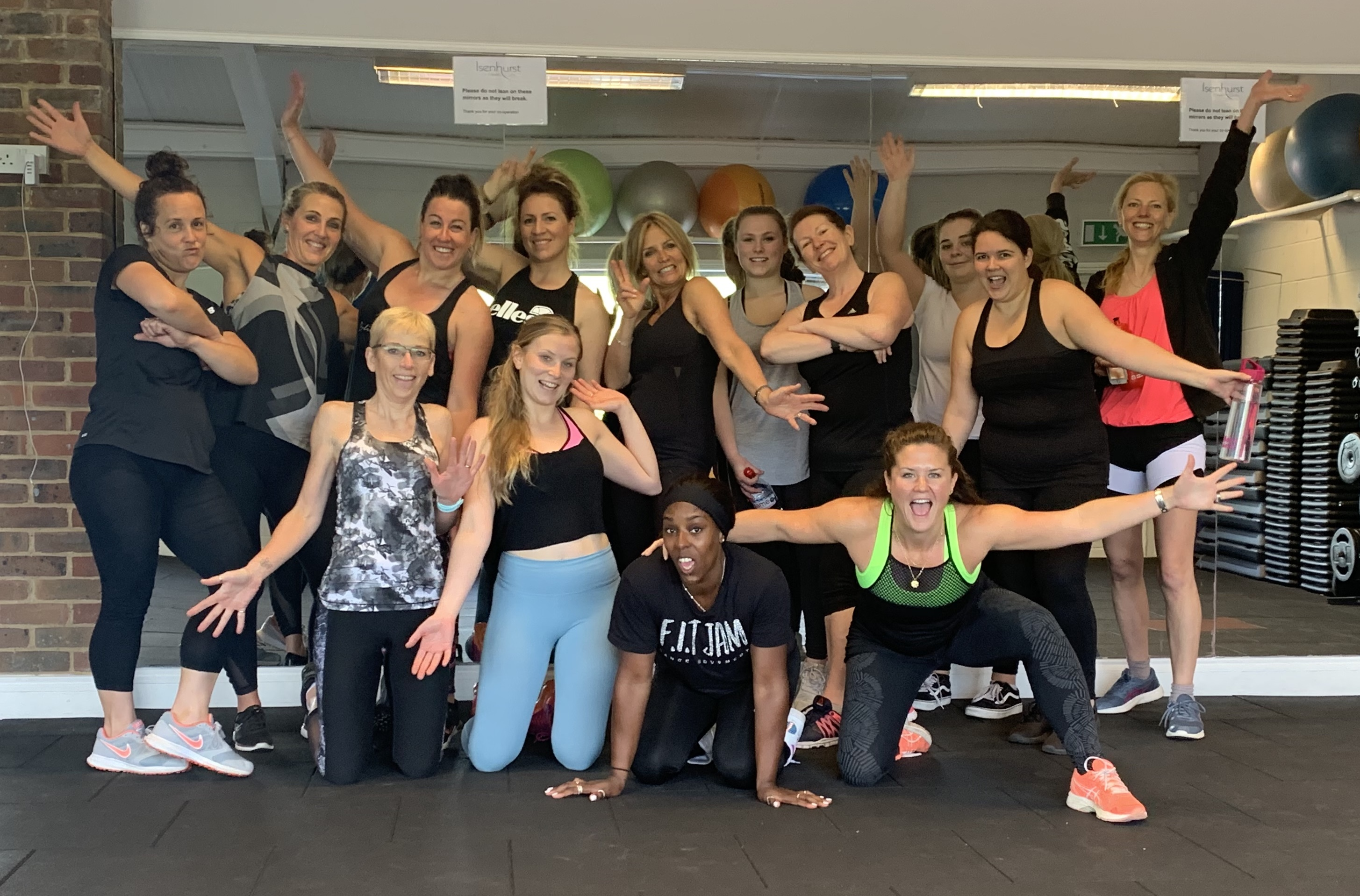 Isenhurst's series of Pop-Up Classes Continues with FIT Jam and Band Burn at Cross In Hand